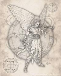 Archangel Gabriel by jayfrench