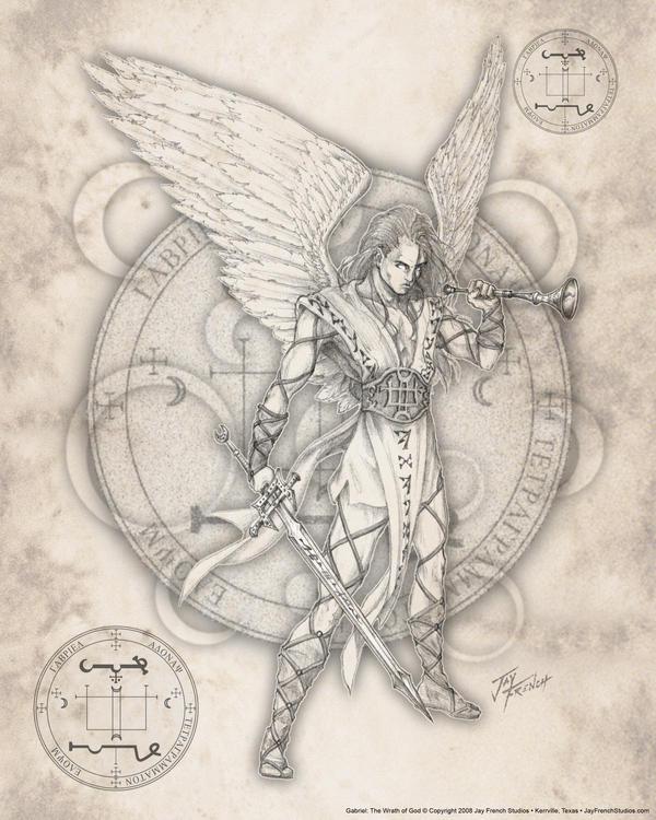 Archangel Gabriel by jayfrench on deviantART