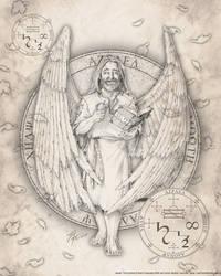 Archangel Azrael by jayfrench