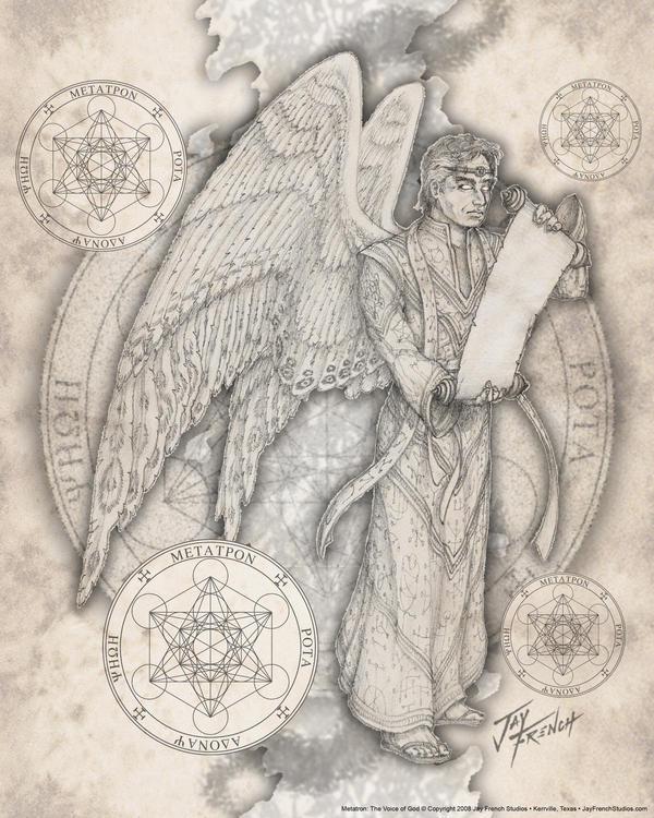 Archangel Metatron by jayfrench