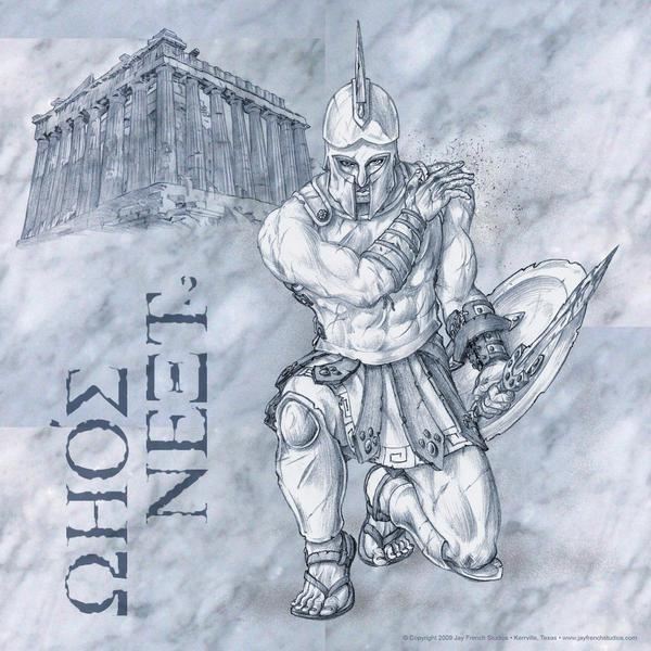 Spartan by jayfrench