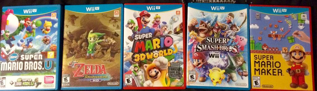 New Wii U Games 2013 : My wii u games by froexd on deviantart