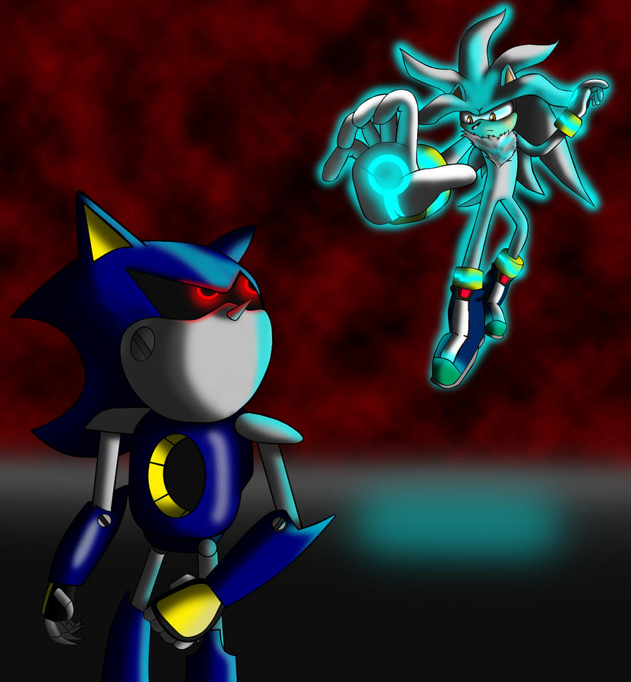 Silver vs. Metal Sonic by ewered on DeviantArt