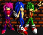 Sonic Underground by ewered