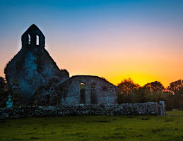 Sunset at the Abbey by anseo1985