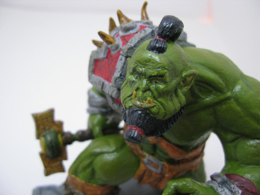 Orc face by T-Laurenti