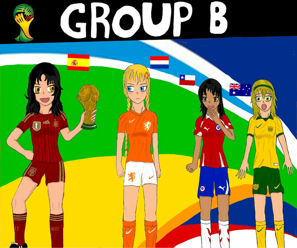 Worldcup Brazil 2014: Group B by SILENTWARRIOR3800