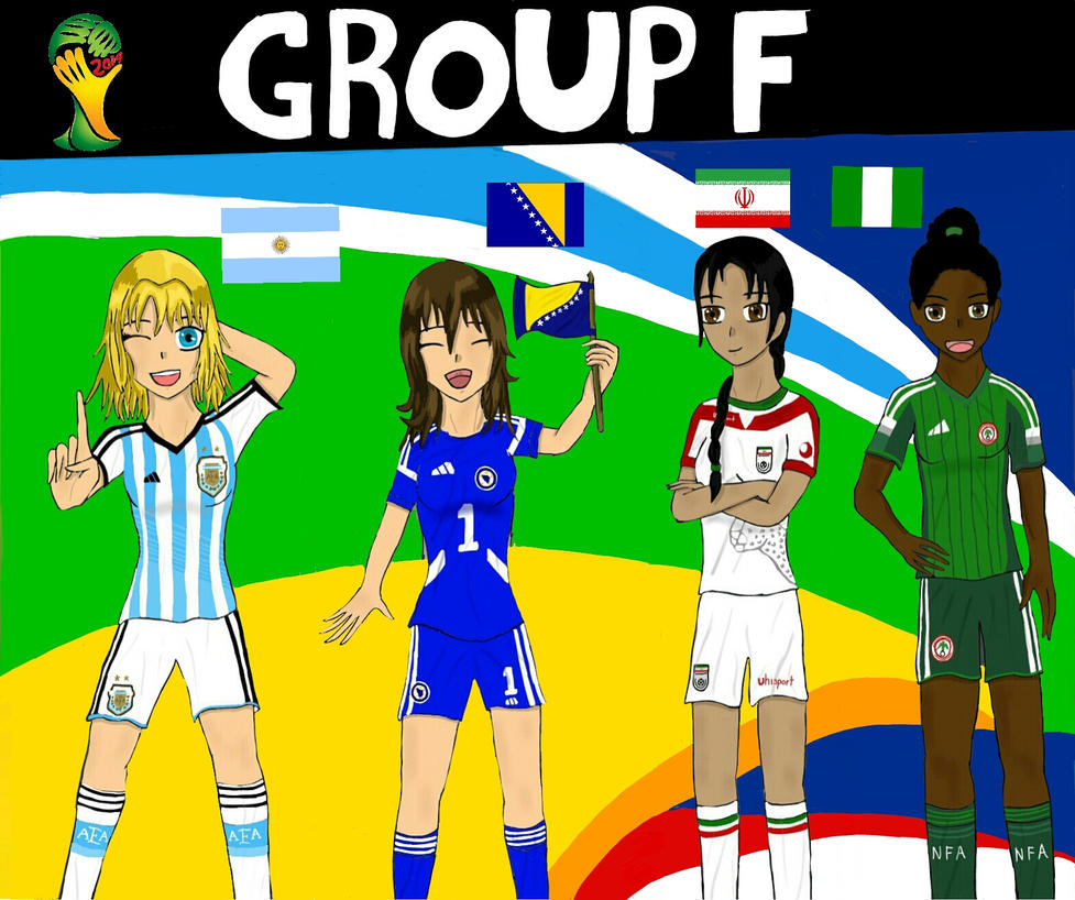 Worldcup Brazil 2014 Group F by SILENTWARRIOR3800