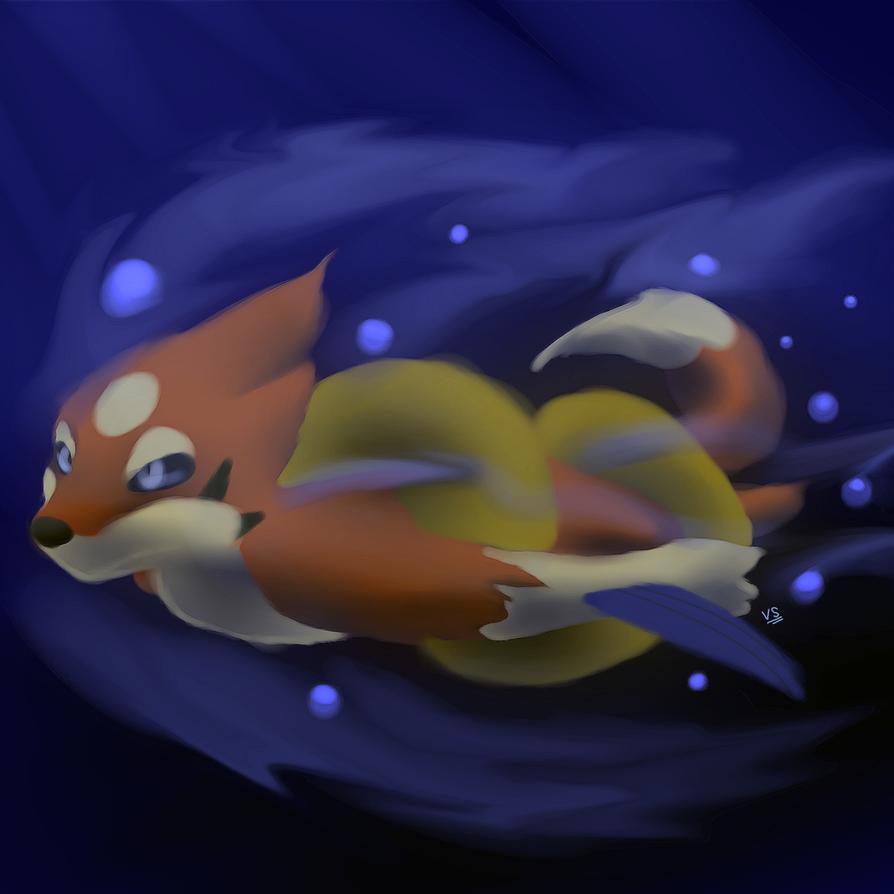 Floatzel by prankster-kun
