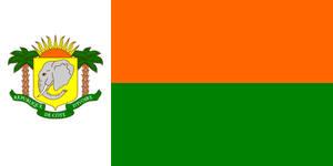 Alt Flag - Republic of Cote d'Ivoire