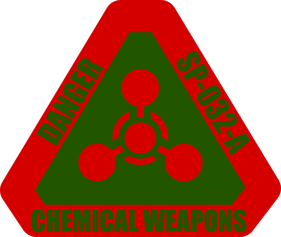 Chemical Weapons Warning Label by AlienSquid on deviantART Chemical Weapons Symbol
