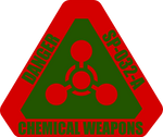 Chemical Weapons Warning Label