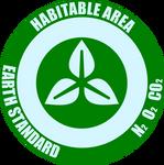 Habitable Area Label
