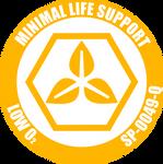 Minimal Life Support Label