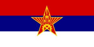 Alt Flag - Socialist Republic of Serbia by AlienSquid