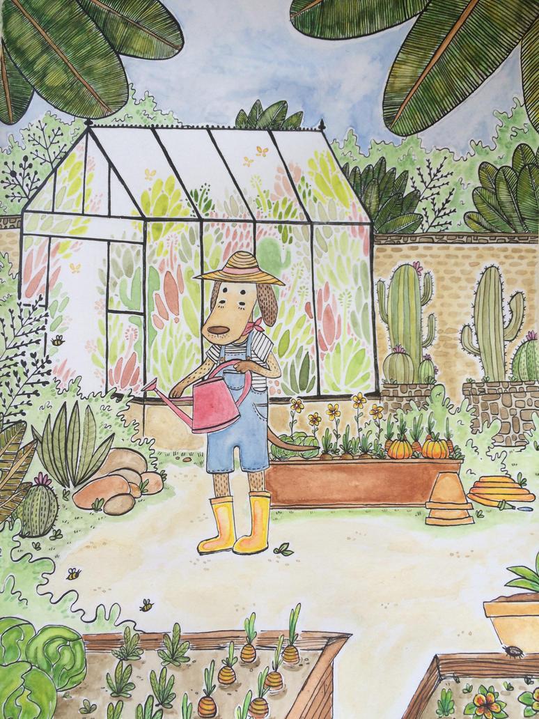 The Botanical Garden by kinachuku