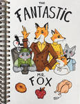 Fantastic Mr. Fox by kinachuku