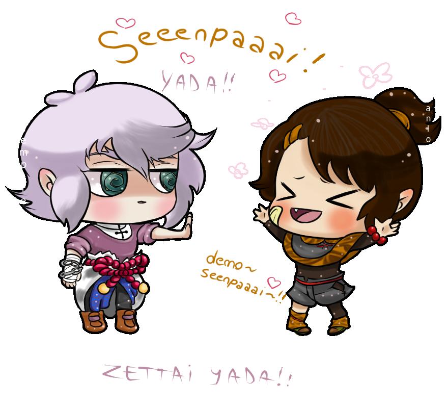 Seeeenpaaaai [ Oc's ] by TamaEmpire