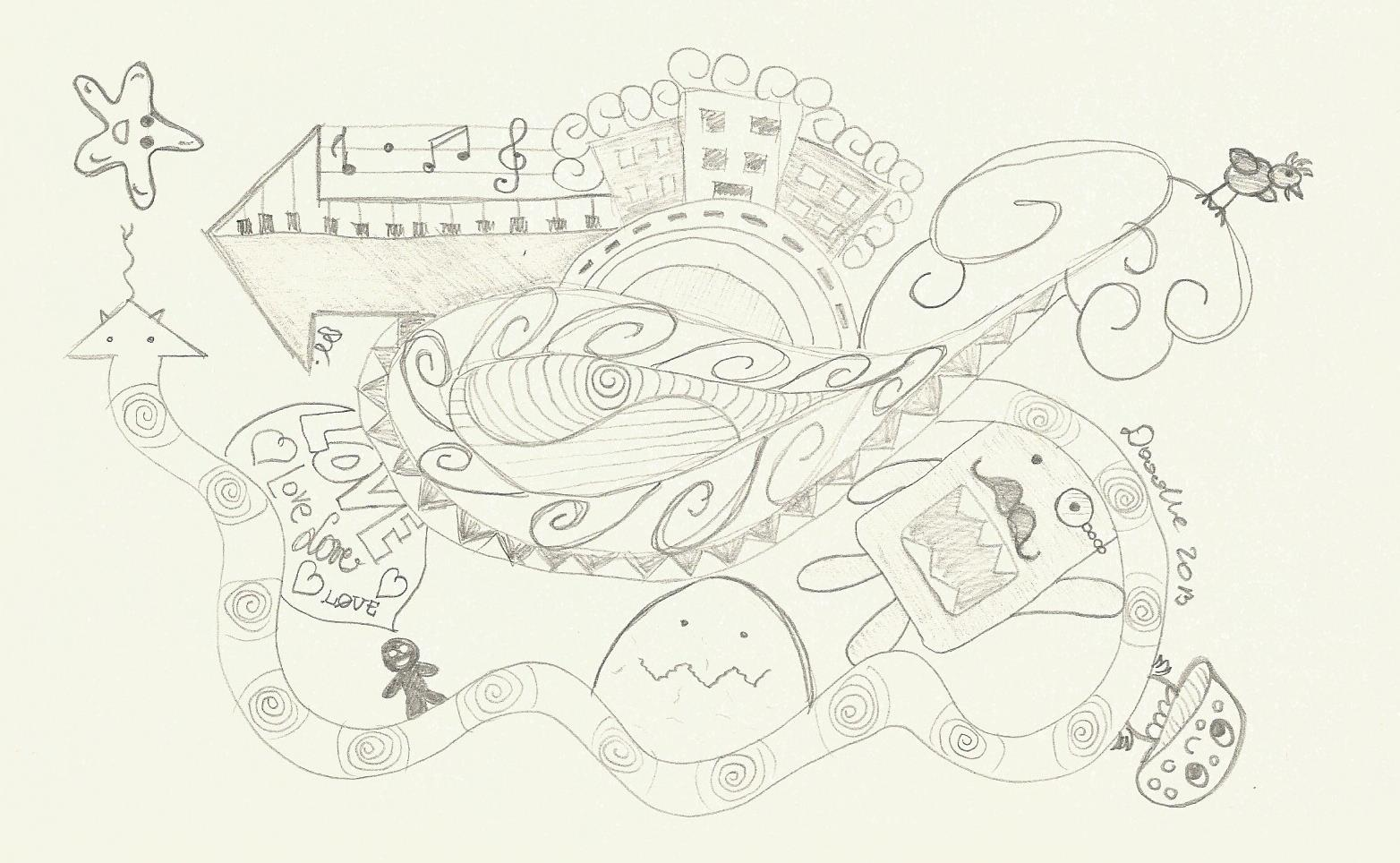 Doodle 0016 by Patricia-T