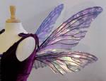 Teasel wings Amethyst