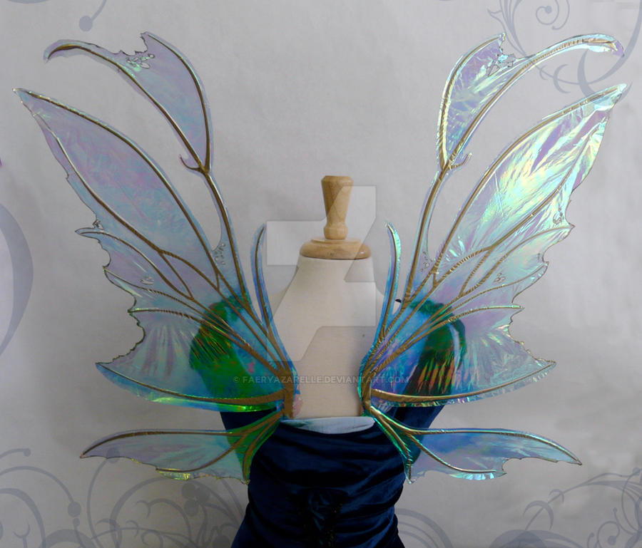 Tinkerbell Wings, Back by FaeryAzarelle on DeviantArt