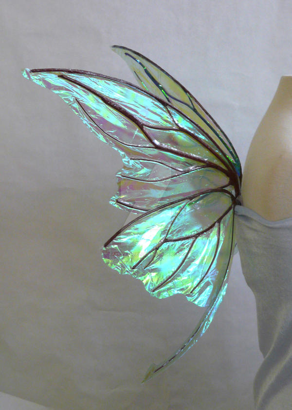 Small wire Titania Fairy Wings by FaeryAzarelle