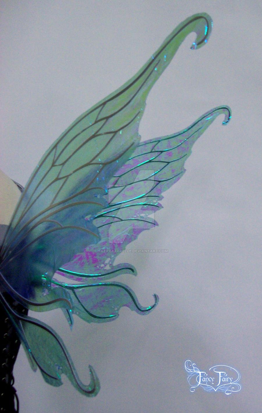 blue fairy wings drawing wwwimgkidcom the image kid