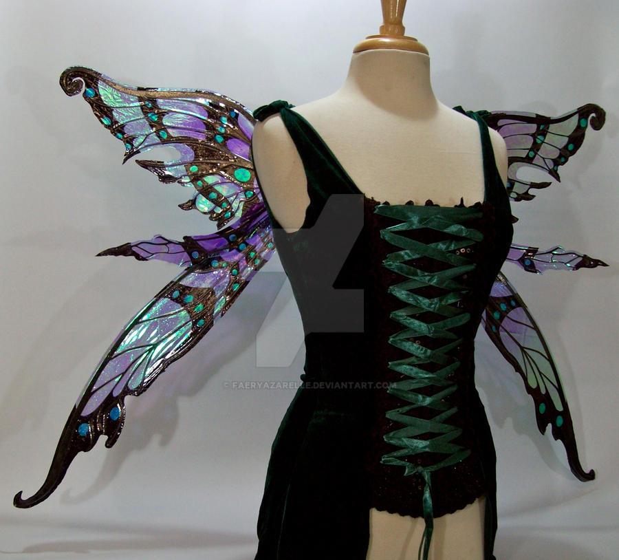 Nightingale Fairy Wings 5 by FaeryAzarelle