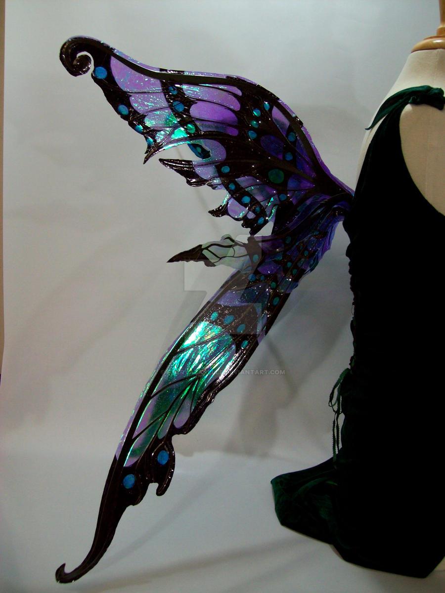 Nightingale Fairy Wings 7 by FaeryAzarelle