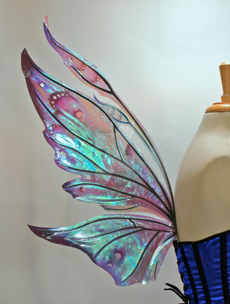 Painted Azarelle Fairy Wings by FaeryAzarelle