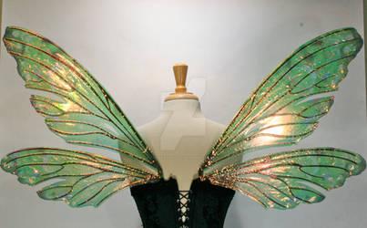 Teasel Painted Wings, Absinthe