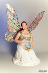 Melody's maternity fairy shoot view 2 by FaeryAzarelle