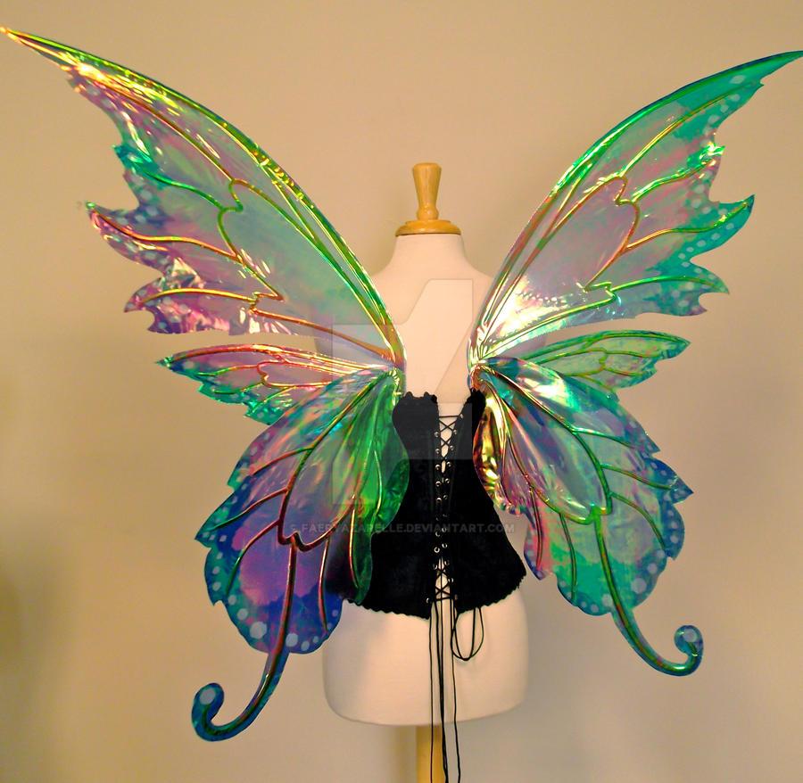 Крылья феи своими руками мастер