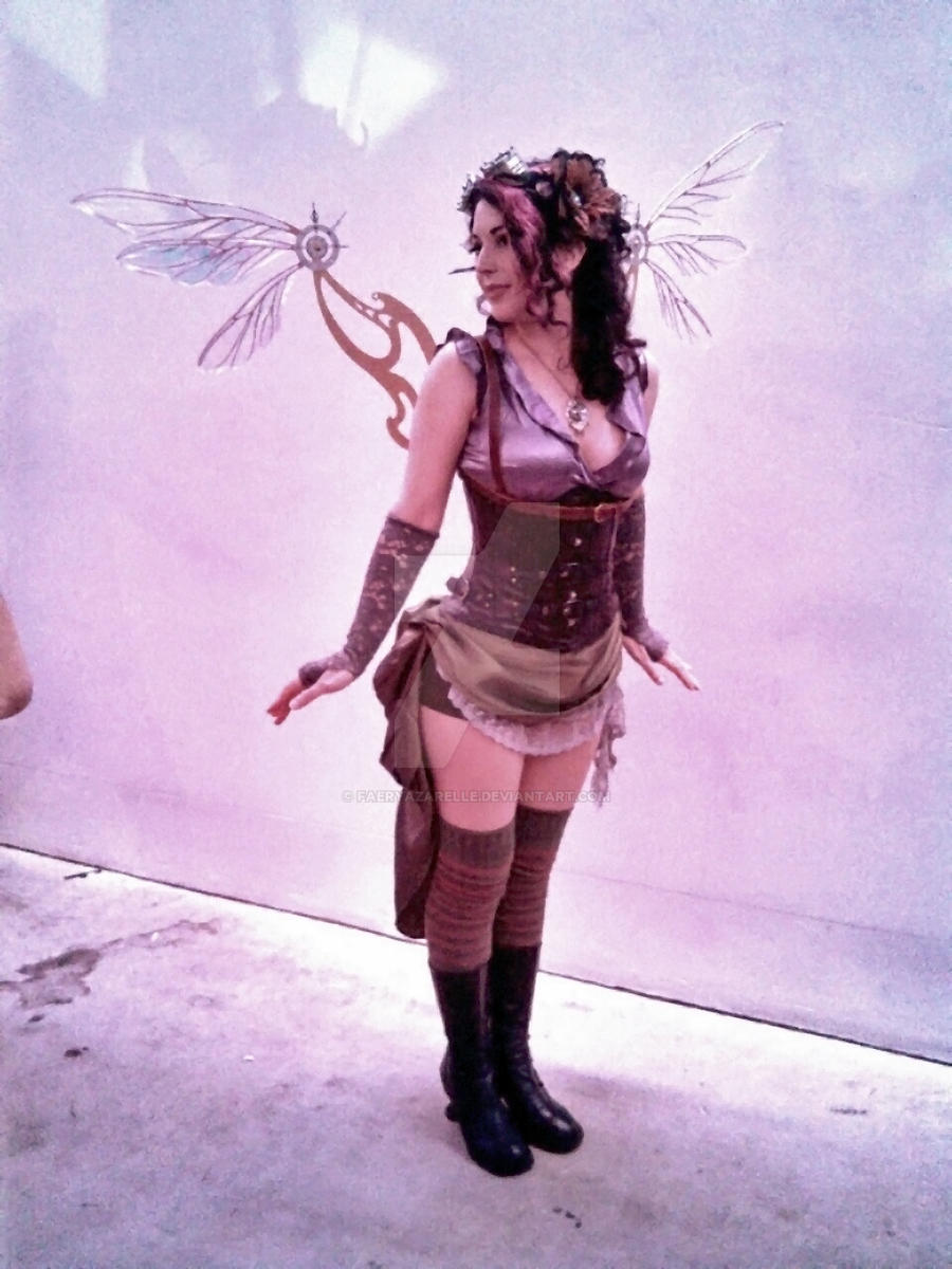 Steampunk Fairy Wings by FaeryAzarelle