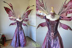 Goblin King's Ball Gown with Giant Kira Wings