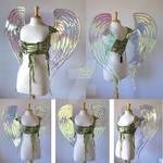 Gregangelo's Iridescent Angel Fairy Wings