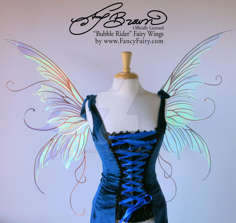 Amy Brown Bubble Rider Fairy Wings by FaeryAzarelle ... & Amy Brown Bubble Rider Fairy Wings by FaeryAzarelle on DeviantArt