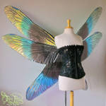 Giant Dragonfly Iridescent Fairy Wings