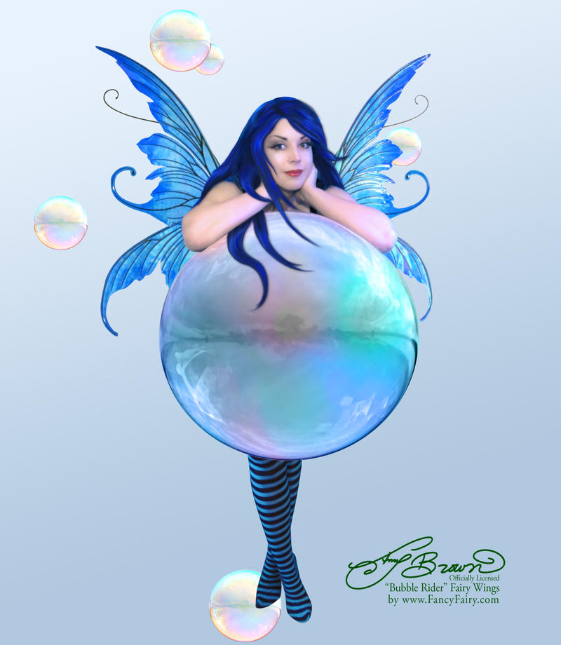 Amy Brown Bubble Rider with Fancy Fairy Wings by FaeryAzarelle ...  sc 1 st  DeviantArt & Amy Brown Bubble Rider with Fancy Fairy Wings by FaeryAzarelle on ...