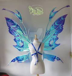 Gloria Trevi XGiant Kira Aqua Wings by FaeryAzarelle