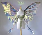 Giant Luna Triple Paneled Fairy Wings