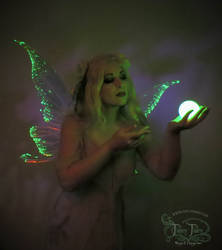 Green Fairy Light Up Wings 1
