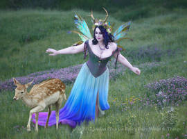 Twilight Fairy Queen with Faun