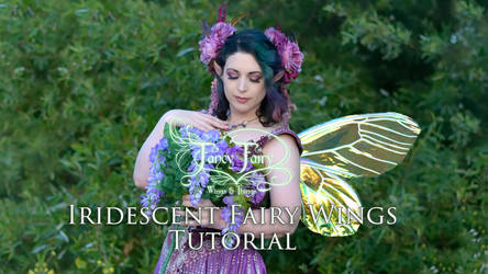 Iridescent Fairy Wings Tutorial Announcement
