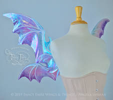 Mother of Pearl Dragons - Light Pearl Wings