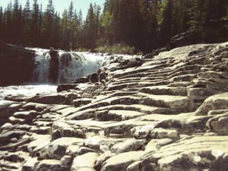 Stone Slab Steps by Xenrin