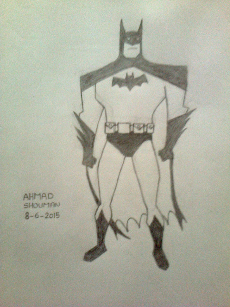 Batman By Ahmad Shouman by thetsar1