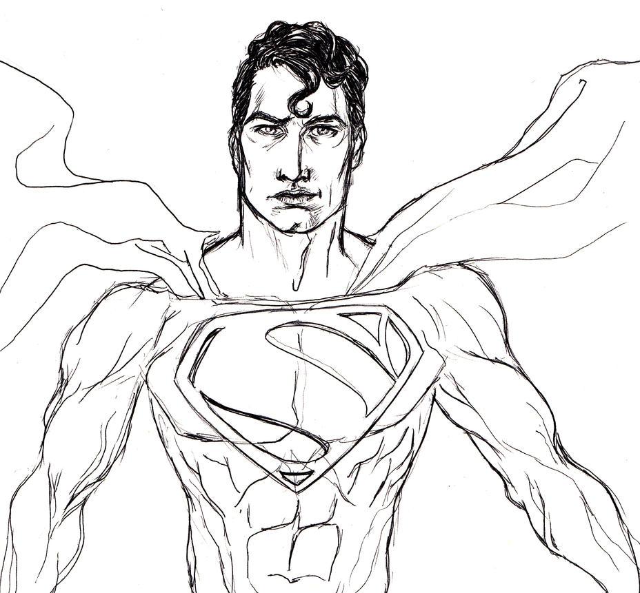 Superman by gwynplaine60