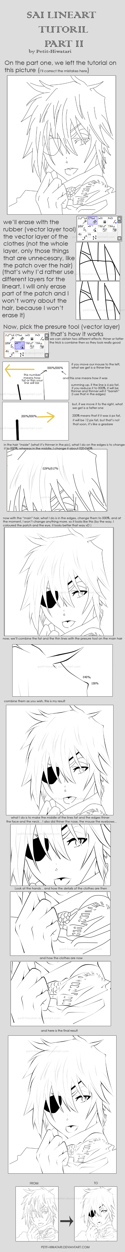 SAI lineart tutorial - part II - NO TABLET NEEDED by Dokan-Kuwabara