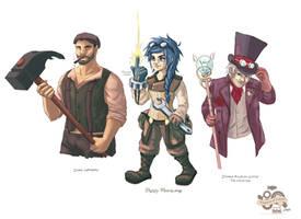 + Empera: Characters +